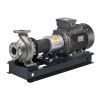 End suction closed coupled centrifugal volute pump
